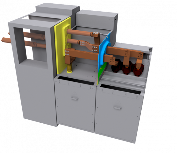 Transient switchgears, interconnection cabinets