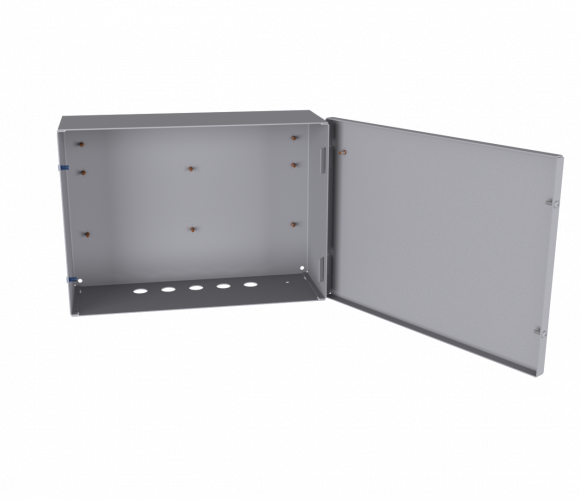 Steel-sheet cabinet for general indoor use